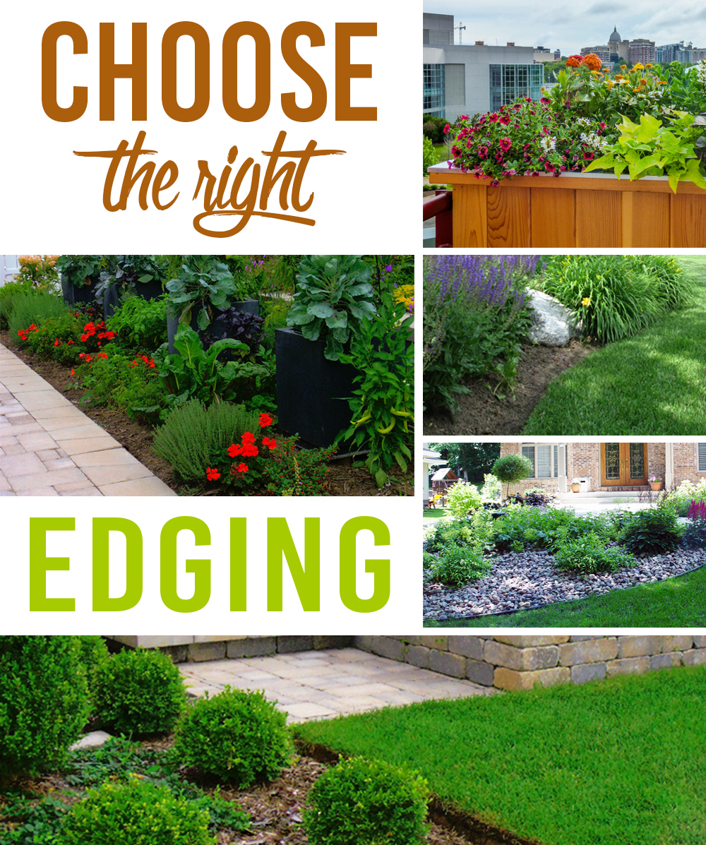 Choose the right edging